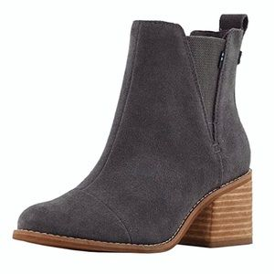 Toms Esme Suede Boots in Forged Iron Grey